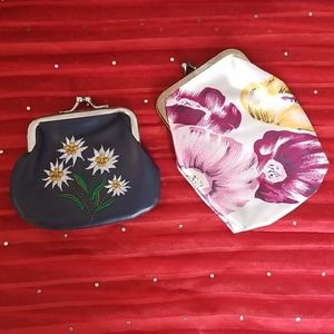 2 coin purses from the 70s.